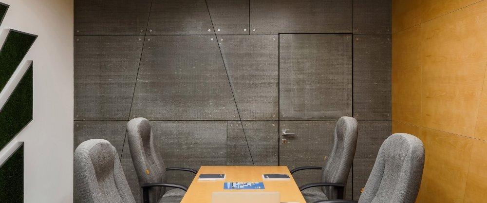 Внутренняя отделка офиса хризотилцементными листами