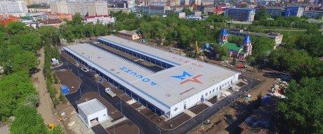 57 дней вместо 10 месяцев: строительство госпиталя в Омске