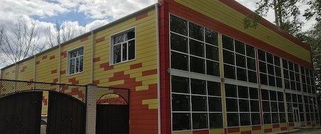 Новый фасад от «Металл Профиль» для спортивного центра