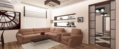 Ремонт трехкомнатной квартиры – материалы, услуги, особенности