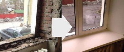 Установка окон и остекление балконов в Долгопрудном