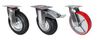 Платформенные тележки на 4 колесах: правильный выбор