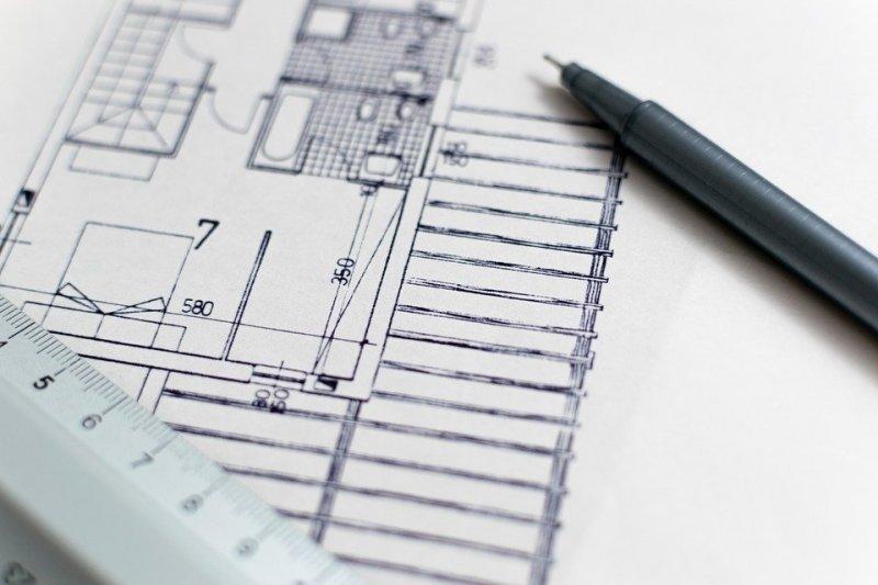 Архитектуры, План, Поэтажный План, Строительство
