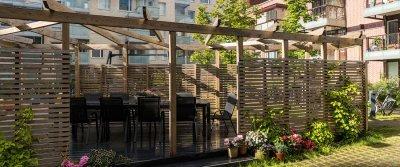 «Элитный» двор: 5 элементов обустройства придомовой территории