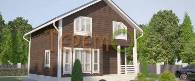 Современные деревянные каркасные дома