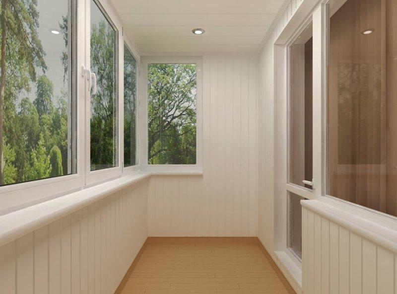 Пластиковые окна и балкон под ключ
