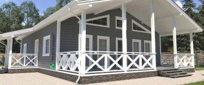Особенности возведения каркасных домов под ключ