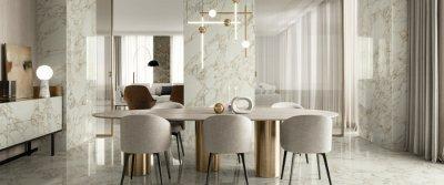 Мрамор, камень, дерево, жаккард от Италон