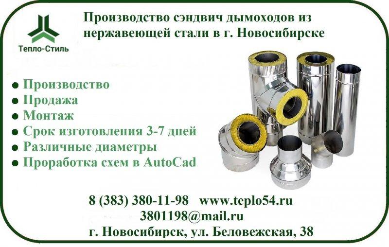 Дымовые трубы из нержавеющей стали
