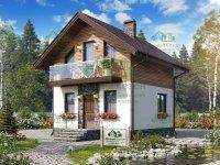 Каркасный дом Довиль