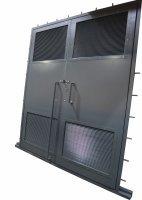Металлические двери и ворота для БКТП и КТП