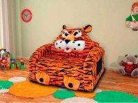 Тигр детский диван