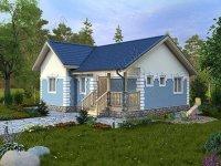 """Проект кирпичного дома С-76 """"Келия"""" К"""