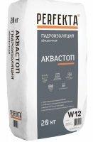 PERFEKTA Гидроизоляция обмазочная Аквастоп W12, 20 кг