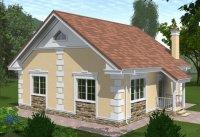 строительство дома проект-2