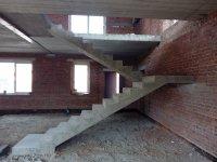 Строительство монолитных бетонных лестниц