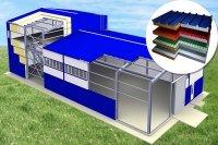 Сэндвич панели, Модульные быстровозводимые здания