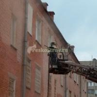 Очистка кирпичных и бетонных фасадов