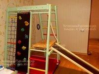 Сборка напольных детских спортивных комплексов для детей