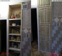 Дверцы бытовые, для дома (из алюминия, стекла, мдф, дсп).