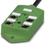 Коробка датчика и исполнительного элемента - SACB-4/ 4-L- 5,0PUR SCO - 1517084 Phoenix contact