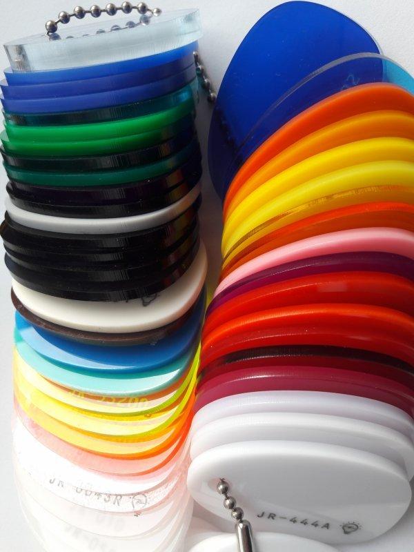 Акриловое стекло цветное