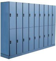 Спортивные шкафчики Hpl для раздевалок, профессиональная влагостойкая мебель Hpl для бассейнов