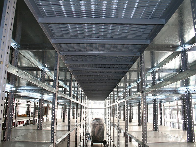 Производство металлического складского оборудования