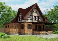3-D визуализация вентилируемого фасада с использованием японских  панелей NICHIHA, TORAY