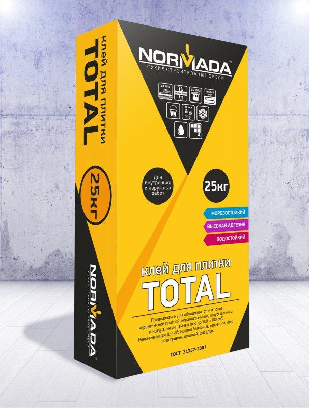 Клей для плитки NORMADA TOTAL (для внутренних и наружных работ)