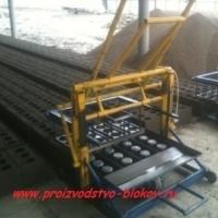 Оборудование для производства шлакоблоков, керамзитоблоков.