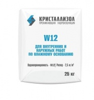 Проникающая гидроизоляция Кристаллизол W12, 25 кг