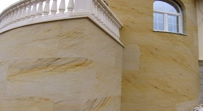 гибкий камень для фасада