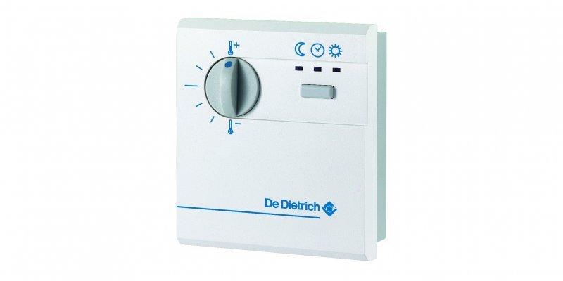 FM52. Упрощенный блок дистанционного управления с датчиком комнатной температуры, 230 В, монтаж-наружный