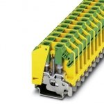 Клемма защитного провода - OTTA 6-PE-1 - 0709725 Phoenix contact