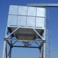 Бункер для зерна объемом 50 метров куб.