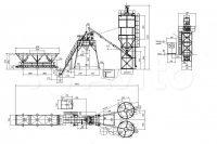 Бетонный завод HZS30 (HZS25