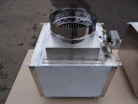 Проточный вертикальный гидрофильтр Ф200 мм для мангалов