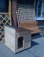 Будка для собак из дерева. Доставка по области.