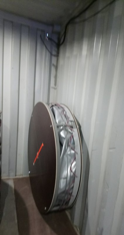 Резервуар разборный, вертикальный РРВ-2,15.