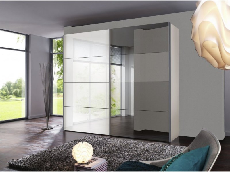Элит 5 шкаф купе с подвесной системой дверей