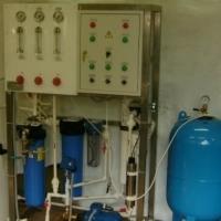 Установка водоподготовки питьевой воды Сокол-Ф(С) производительность 1- 50 м.куб/ч