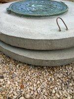 Плита перекрытия ППЛ-10 (крышка колодца с встроенным люком)