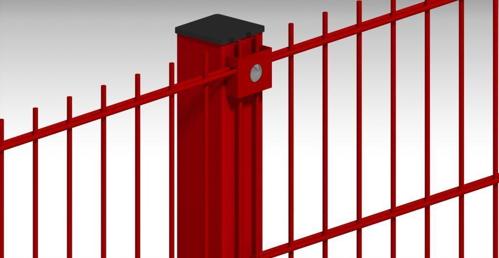 Ограждение из сварной сетки AFENCE Стандарт 2D