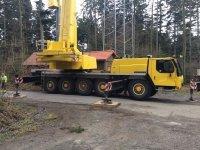 Автокран 100 тонн  стрела 47 метров.