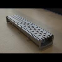 Стальной дренажный лоток Iron линейный, Iron щелевой