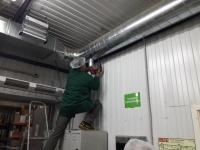 Монтаж систем вентиляции и кондиционирования