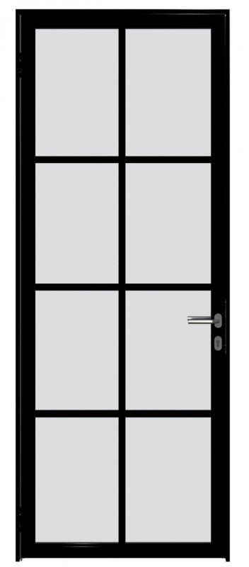 Дверное полотно на основе алюминиевого профиля. Серия Loft, коллекция Loft