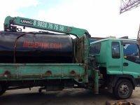 Емкость металлическая для канализации