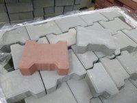 Тротуарная плитка Катушка 242х160х60 (цвет серый).